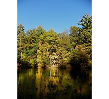 Fall Color Reflections Photographic Print