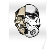 Star Wars Storm Trooper Skull Poster