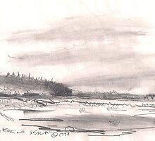 TOFINO BEACH(C1998) by Paul Romanowski
