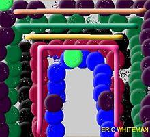 (DOORWAY TO CYBERSPACE) ERIC WHITEMAN  ART by eric  whiteman