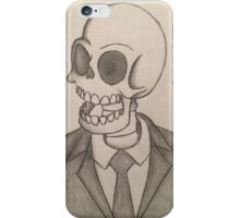 Business Death iPhone Case/Skin