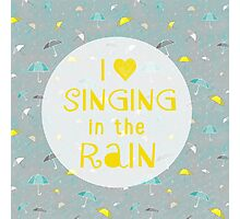 Singin' In The Rain Photographic Print