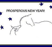 Prosperous New Year by Carole Boyd