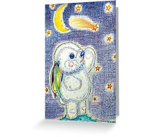 Pooky Stargazing Greeting Card