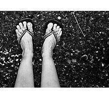 Sephardic Feet Photographic Print