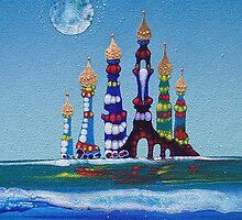 Water Castles by Rainer Kozik