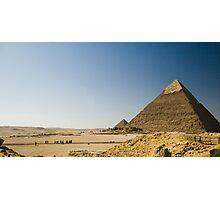 Pyramids of Giza Photographic Print