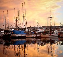 Sunrise on the Docks  by gst0ne