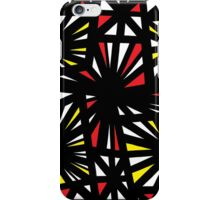 Shrum Abstract Expression Yellow Red iPhone Case/Skin
