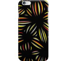 Mahmoud Abstract Expression Yellow Red Black iPhone Case/Skin