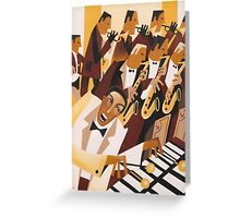 FLYING HOME - DEXTER GORDON WITH LIONEL HAMPTON 1942 Greeting Card