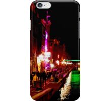 The Red Lights of Amsterdam iPhone Case/Skin