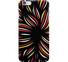 Jurgensen Abstract Expression Yellow Red iPhone Case/Skin