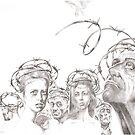 """Wire (Unfreedom)""  by Sergei Rukavishnikov by Alenka Co"