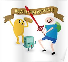 Mathematical Adventure Time! Poster