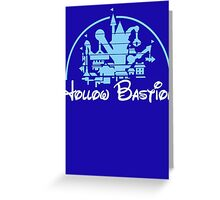 Kingdom Hearts Hollow Bastion Greeting Card