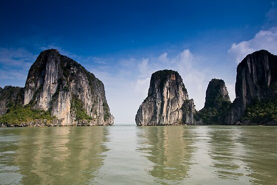 Ha Long Bay Jurassic by Alistair Wilson