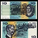 Australia $10 - 1985 by Robert Abraham