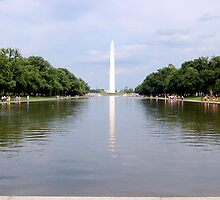 Washington Monument, DC by Pat Herlihy