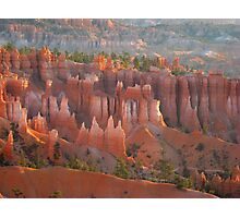 Sandstone castles in Bryce Canyon Photographic Print