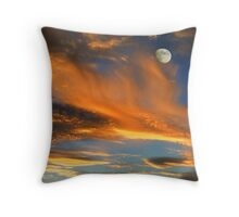Rising Flames Throw Pillow