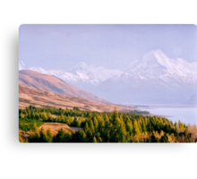 Mount Cook National Park - New Zealand Canvas Print