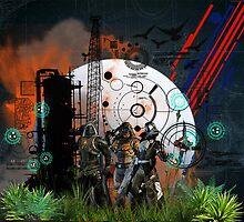 Destiny Guardians Print by geot