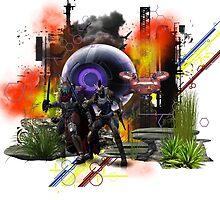 Destiny Fallen Fan Art Print by geot