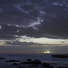 Moon, Venus and Mercury Conjunction by Mike Salway