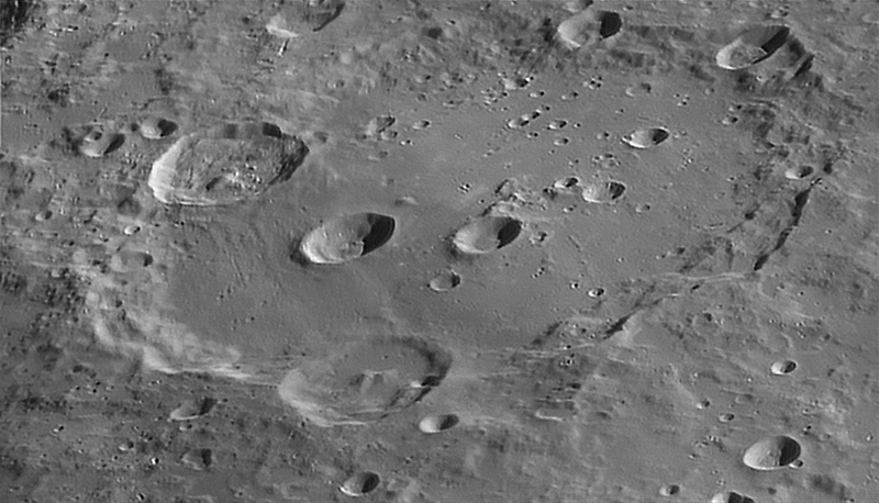 High-Resolution Clavius by Mike Salway