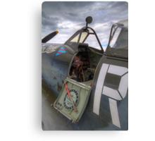 Spitfire cockpit Canvas Print