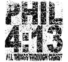 PHIL 4-13 street art vintage by tshirtchristian