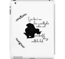 Disney Princesses: Ariel (The Little Mermaid) *Black version* iPad Case/Skin