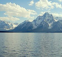 Jenny Lake Afternoon, Grand Teton by Bob Moore