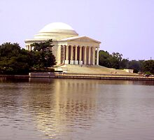 Thomas Jefferson Memorial by Laurie Puglia