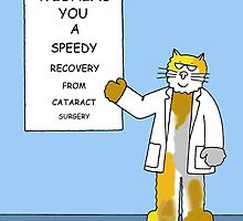 Wishing you a speedy recovery from cataract surgery by KateTaylor