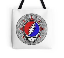 Mayan Calendar Steal Your Face - Basic Color Tote Bag