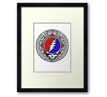 Mayan Calendar Steal Your Face - Basic Color Framed Print