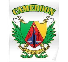 Cameroon Coat of Arms Poster