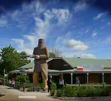 Ned Kelly Statue by Keith G. Hawley