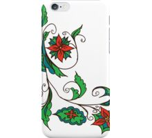 Abstract Floral Ornament 3 iPhone Case/Skin