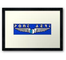 Pont Aeri Framed Print