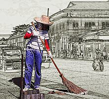 The Street Sweeper by catedral01