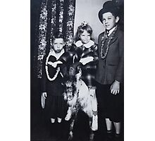 Holiday Greetings from the Robinson's Photographic Print
