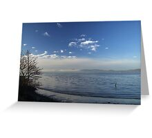Winter tide Greeting Card