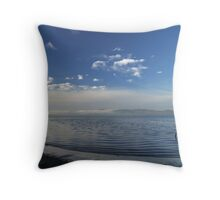 Winter tide Throw Pillow