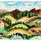 Cow Land by Monica Engeler