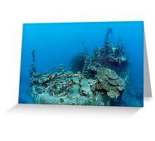 Khanka - The Russian Wreck - Background Story Greeting Card