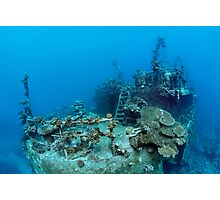 Khanka - The Russian Wreck - Background Story Photographic Print