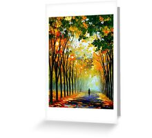 Autumn Mood — Buy Now Link - www.etsy.com/listing/224619889 Greeting Card